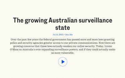 The growing Australian surveillance state