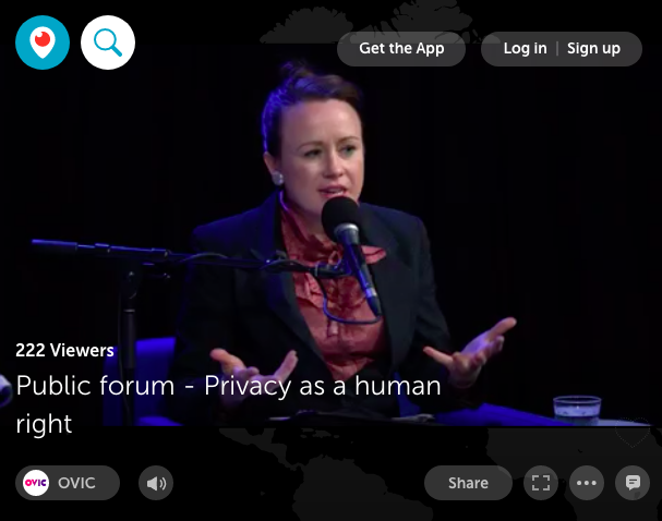 Privacy as a human right – in conversation with the Office of the Victorian Information Commissioner