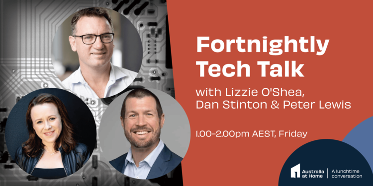 Tech talk: fortnightly talks about all things tech