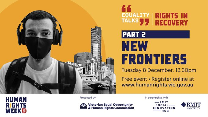 Human Rights Week. Equality Talks: Part 2 – New frontiers